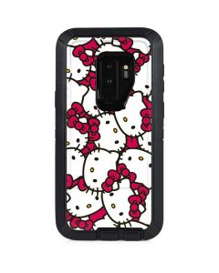 Hello Kitty Multiple Bows Pink Otterbox Defender Galaxy Skin