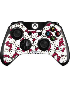 Hello Kitty Multiple Bows Pink Xbox One Controller Skin
