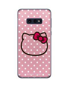 Hello Kitty Outline Galaxy S10e Skin
