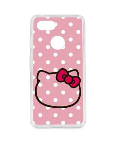 Hello Kitty Outline Google Pixel 3 Clear Case