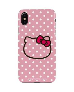 Hello Kitty Outline iPhone XS Max Lite Case