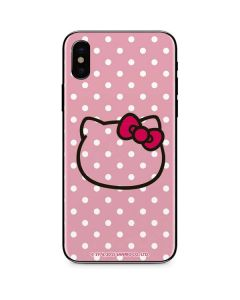 Hello Kitty Outline iPhone XS Skin
