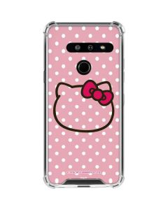 Hello Kitty Outline LG G8 ThinQ Clear Case