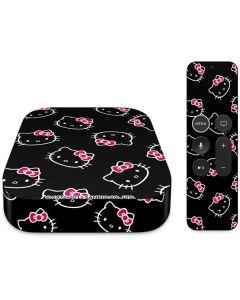Hello Kitty Pattern Apple TV Skin