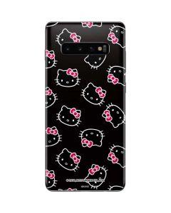 Hello Kitty Pattern Galaxy S10 Plus Skin