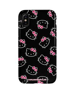 Hello Kitty Pattern iPhone X Pro Case