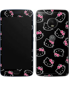 Hello Kitty Pattern Moto G5 Plus Skin