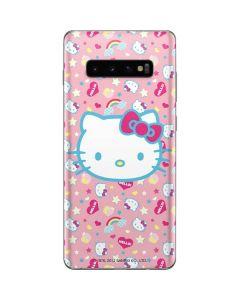 Hello Kitty Pink, Hearts & Rainbows Galaxy S10 Plus Skin