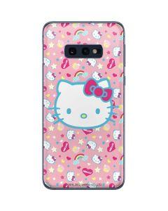 Hello Kitty Pink, Hearts & Rainbows Galaxy S10e Skin