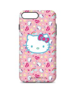 Hello Kitty Pink, Hearts & Rainbows iPhone 8 Plus Pro Case