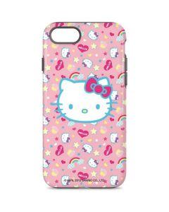 Hello Kitty Pink, Hearts & Rainbows iPhone 8 Pro Case