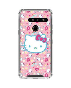 Hello Kitty Pink, Hearts & Rainbows LG G8 ThinQ Clear Case