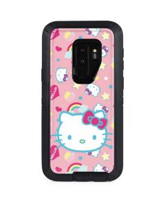 Hello Kitty Pink, Hearts & Rainbows Otterbox Defender Galaxy Skin
