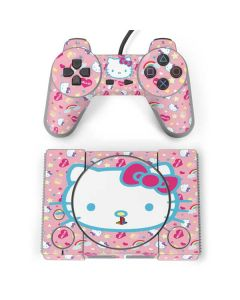 Hello Kitty Pink, Hearts & Rainbows PlayStation Classic Bundle Skin