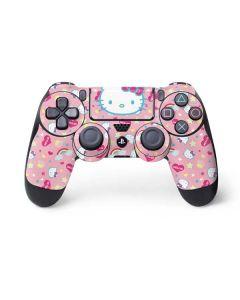Hello Kitty Pink, Hearts & Rainbows PS4 Controller Skin