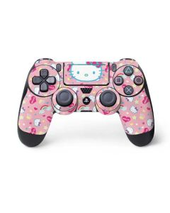 Hello Kitty Pink, Hearts & Rainbows PS4 Pro/Slim Controller Skin