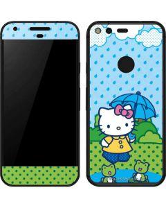 Hello Kitty Rainy Day Google Pixel Skin
