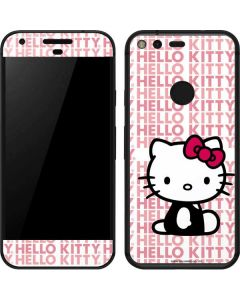 Hello Kitty Repeat Google Pixel Skin