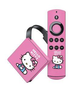 Hello Kitty Sitting Pink Amazon Fire TV Skin