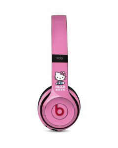 Hello Kitty Sitting Pink Beats Solo 3 Wireless Skin