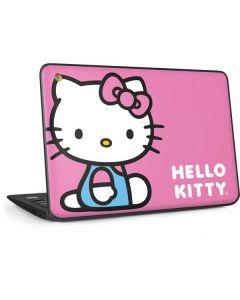 Hello Kitty Sitting Pink HP Chromebook Skin