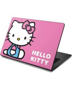 Hello Kitty Sitting Pink Dell Chromebook Skin