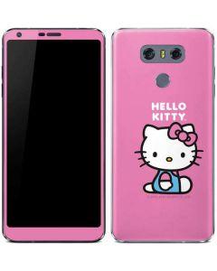 Hello Kitty Sitting Pink LG G6 Skin