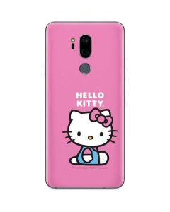 Hello Kitty Sitting Pink G7 ThinQ Skin