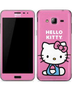 Hello Kitty Sitting Pink Galaxy J3 Skin