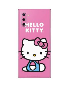 Hello Kitty Sitting Pink Galaxy Note 10 Skin