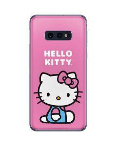 Hello Kitty Sitting Pink Galaxy S10e Skin