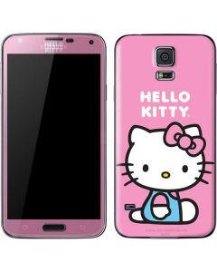 Hello Kitty Sitting Pink Galaxy S5 Skin