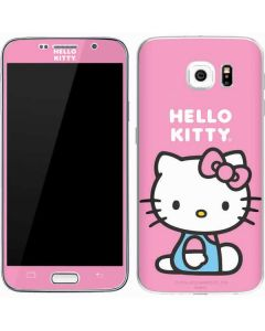 Hello Kitty Sitting Pink Galaxy S7 Skin