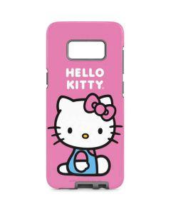 Hello Kitty Sitting Pink Galaxy S8 Pro Case