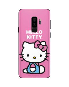 Hello Kitty Sitting Pink Galaxy S9 Plus Skin