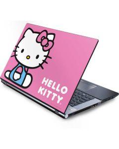Hello Kitty Sitting Pink Generic Laptop Skin