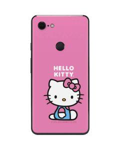 Hello Kitty Sitting Pink Google Pixel 3 XL Skin