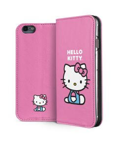 Hello Kitty Sitting Pink iPhone 6/6s Folio Case