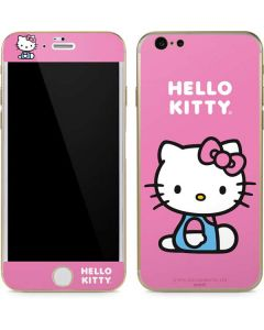 Hello Kitty Sitting Pink iPhone 6/6s Skin