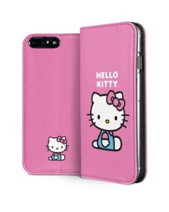 Hello Kitty Sitting Pink iPhone 8 Plus Folio Case