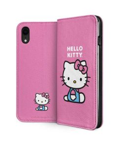 Hello Kitty Sitting Pink iPhone XR Folio Case