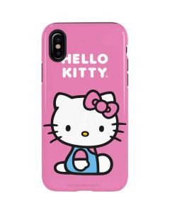 Hello Kitty Sitting Pink iPhone XS Max Pro Case