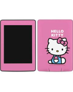 Hello Kitty Sitting Pink Amazon Kindle Skin