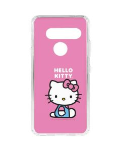 Hello Kitty Sitting Pink LG V40 ThinQ Clear Case