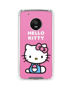Hello Kitty Sitting Pink Moto G5 Plus Clear Case
