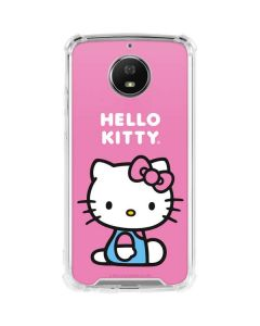 Hello Kitty Sitting Pink Moto G5S Plus Clear Case