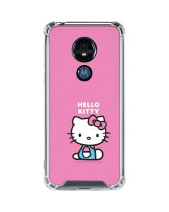 Hello Kitty Sitting Pink Moto G7 Power Clear Case
