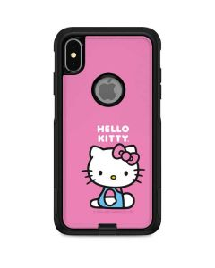 Hello Kitty Sitting Pink Otterbox Commuter iPhone Skin