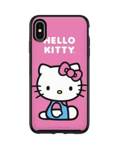 Hello Kitty Sitting Pink Otterbox Symmetry iPhone Skin