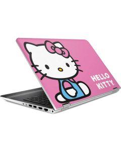 Hello Kitty Sitting Pink HP Pavilion Skin